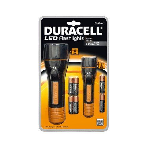 2 Duracell LED-Taschenlampen inkl. Batterien um €7,90 statt €14,99