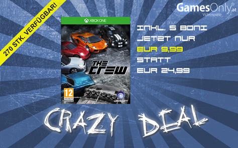 GamesOnly: The Crew (Xbox One) für 13,98€