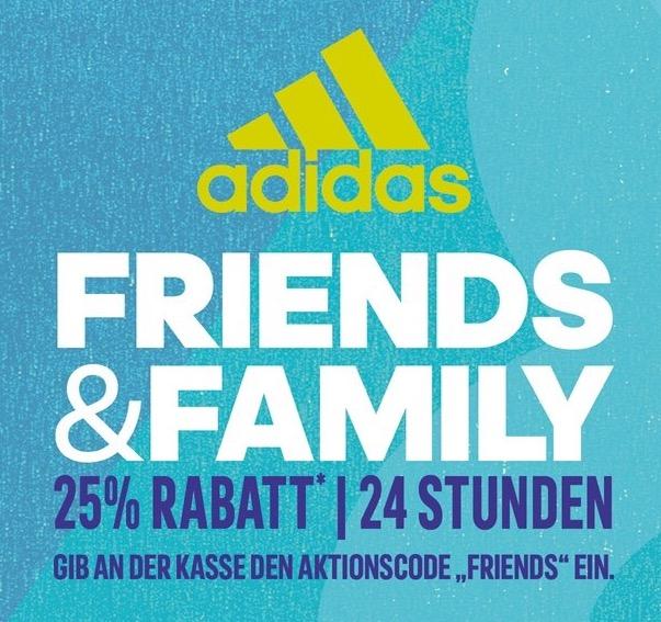 Adidas: 25% Rabatt auf Alles - nur am 19.4.0216