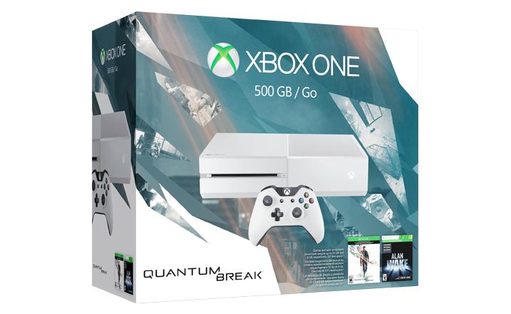 XBOX ONE Bundle mit QUANTUM BREAK microsoftstore.co.uk €314
