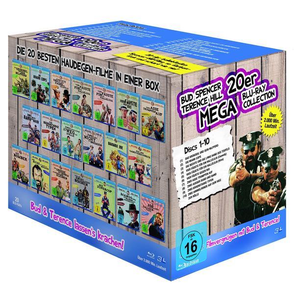 Bud Spencer und Terence Hill Box 20 Filme auf Blu-ray