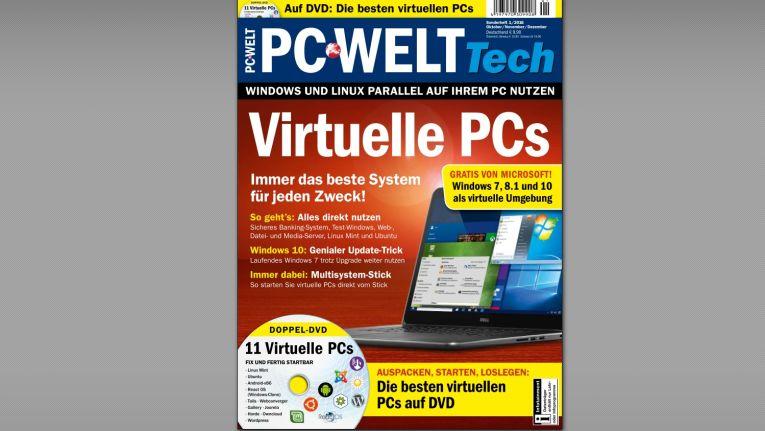 """PC-WELT Gratis-Heft """"Virtuelle PCs"""""""