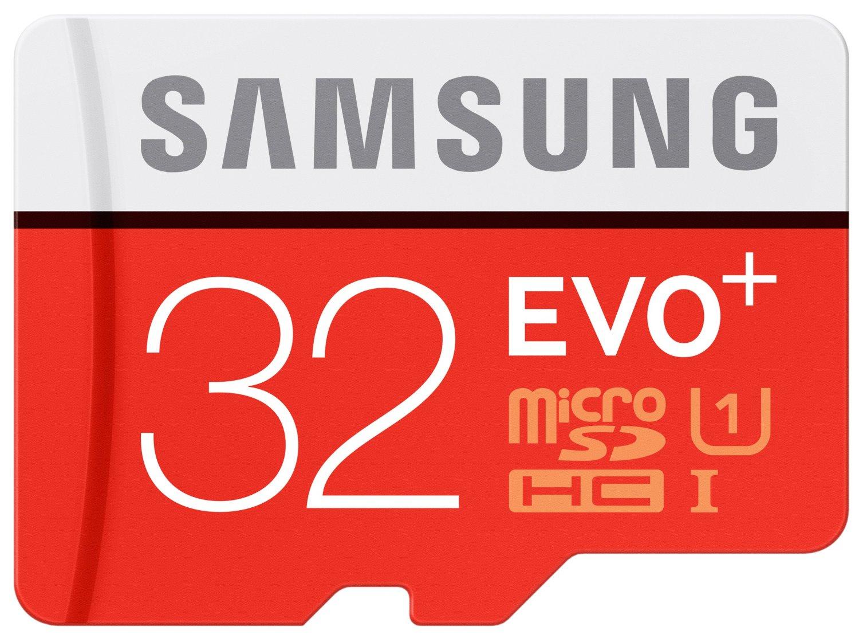[Amazon Prime] Samsung Evo Plus microSDXC mit 32GB Class 10 / U1 inkl. SD-Adapter für 9€