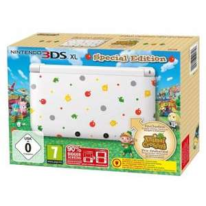 Redcoon: Nintendo 3DS XL - Konsole, weiß + Animal Crossing: New Leaf (vorinstalliert) für 130,80€