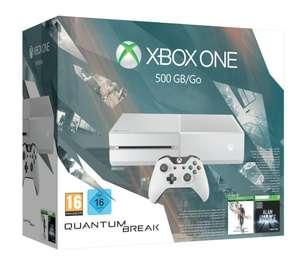 Amazon: Xbox One 500GB Konsole - Bundle inkl. Quantum Break und Alan Wake Special Edition für 259,97€