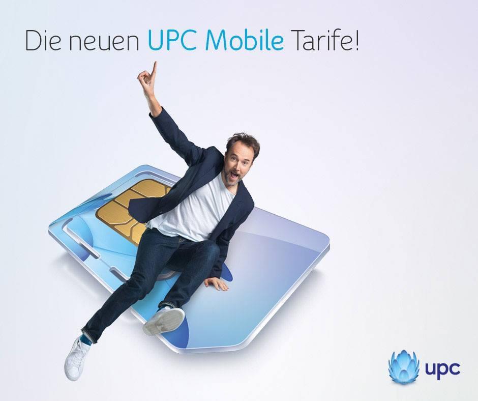 UPC Mobile - Neue Tarife und Aktionen - bis 1.6.2016