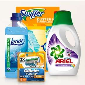 10€ Rabatt auf P&G-Artikel (Lenor, Gilette, Head & Shoulders, Always,..)