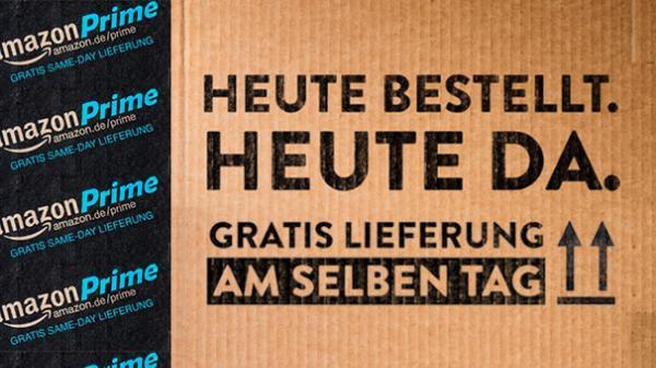 Amazon Prime: Gratis Same Day Lieferung (Österreich)