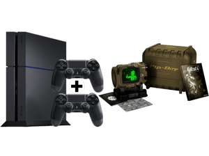 (Mediamarkt) PS4 1TB (neueste Revision) + 2 Controller + Fallout 4 Pipboy Edition um €369