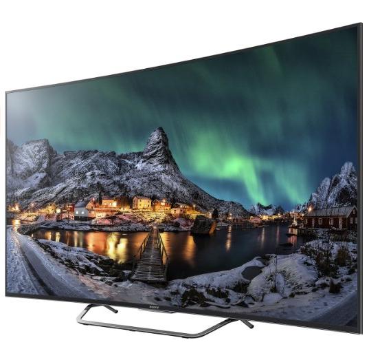 "Amazon: Sony 55"" UHD Cuved-TV um 1109 € - 15% sparen"