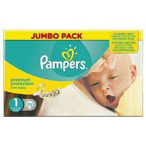 PAMPERS Premium Protection Gr.1 2-5kg 72 Stück