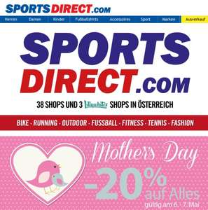 20% bei Sports Direct am 6. und 7. Mai