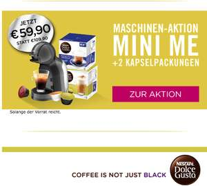 DOLCE GUSTO MASCHINEN-AKTION
