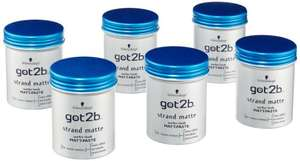 [Amazon.de] got2b Strand Matte Matt-Paste, 6er Pack (6 x 100 ml) für 9,54€