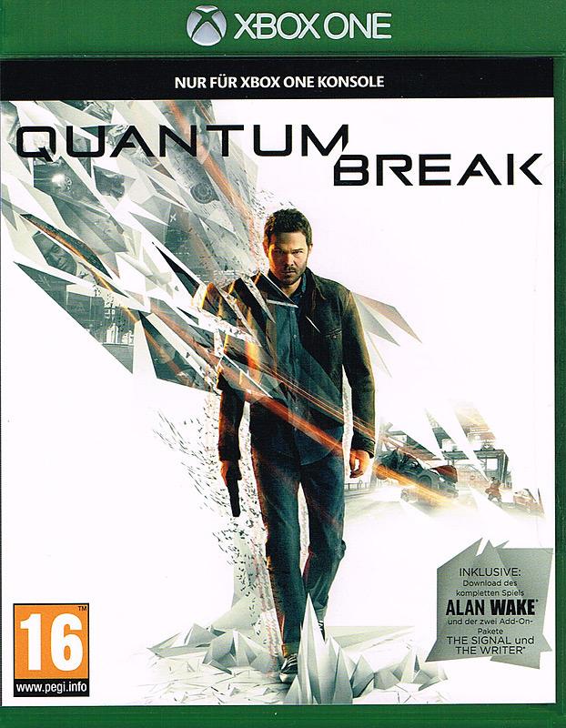 Quantum Break D1 Version + 4 DLCs für Xbox One (Auch erhältlich als Steelbock + T-Shirt)