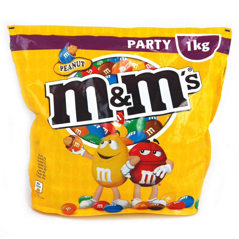 M&M's Peanut, 1 Beutel (1 x 1 kg)  7,99€ bei Merkur (Graz)