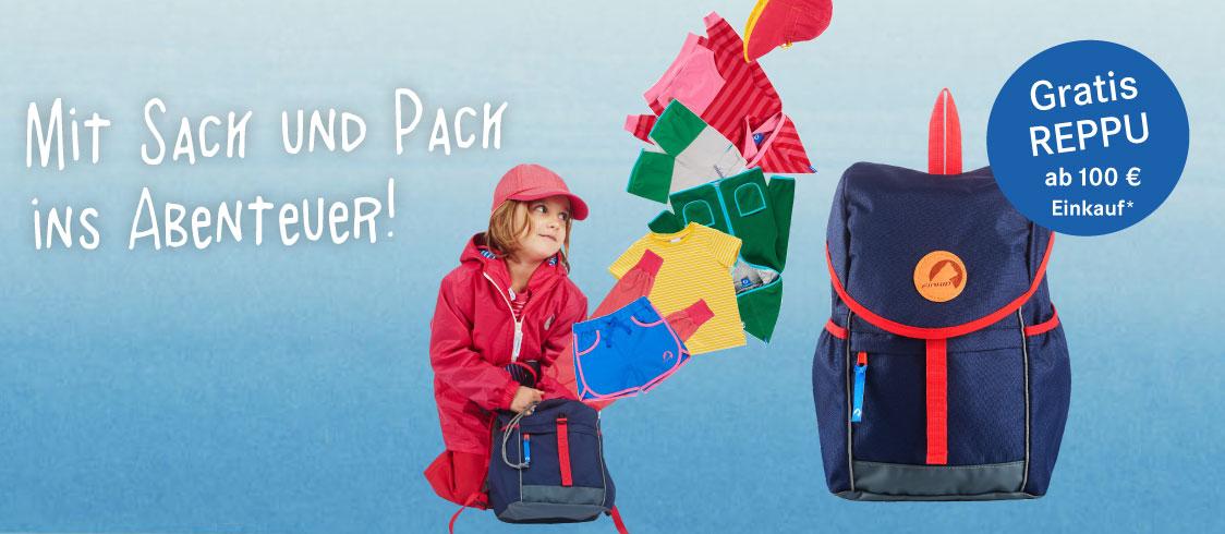 [finkid] GRATIS Kinderrucksack REPPU ( Kostenpunkt: ca. 60€) ab einem Bestellwert von 100€