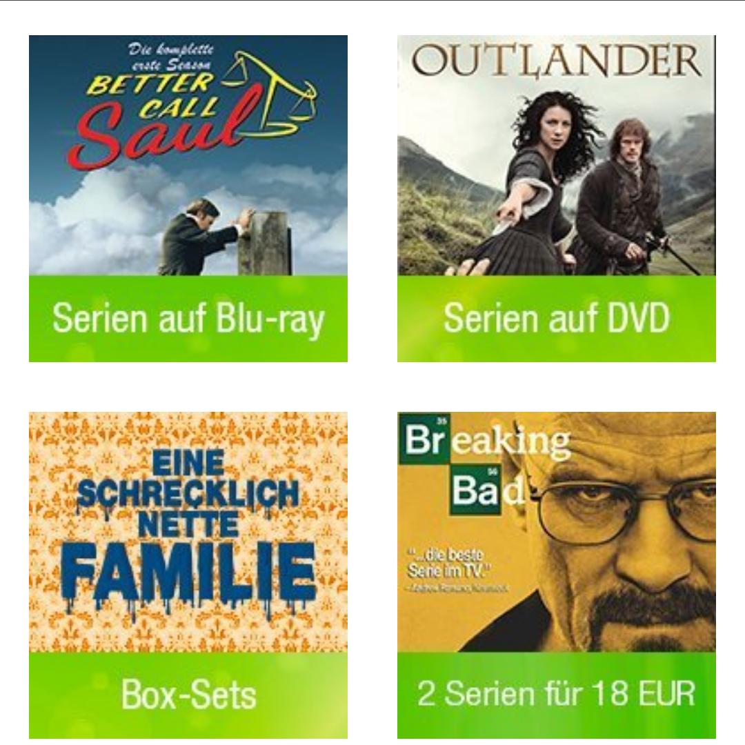 Serienfest @amazon - Eine Woche reduzierte Serien