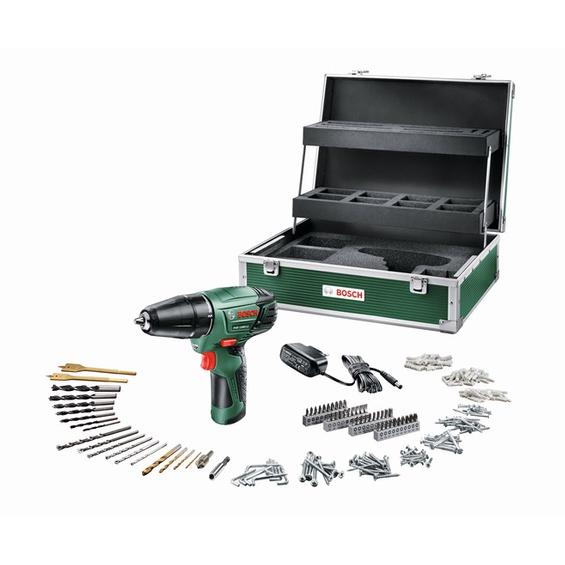 Bosch Akkuschrauber PSR 1080 Li inkl. 241 tlg. Zubehör - mehr als 30% günstiger!