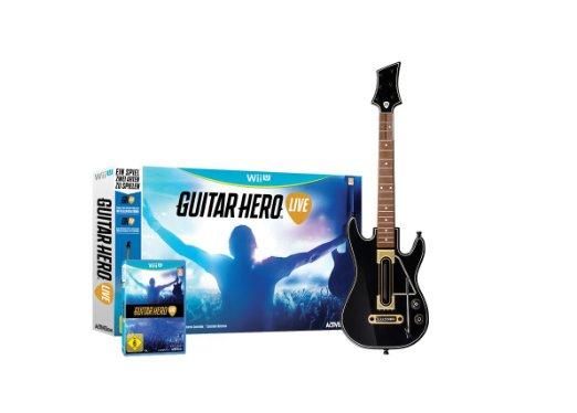 Wii U: Guitar Hero + Gitarren Controller um 41 €