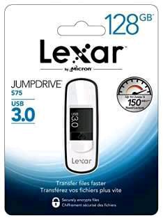 Lexar 128GB JumpDrive S75 USB 3.0 Stick