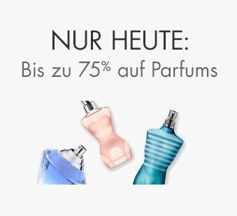 Nur heute: 75% Rabatt auf Parfums @amazon