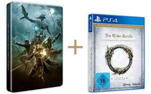Amazon: The Elder Scrolls Online: Tamriel Unlimited - Steelbook Edition (PlayStation 4) für 19,97€
