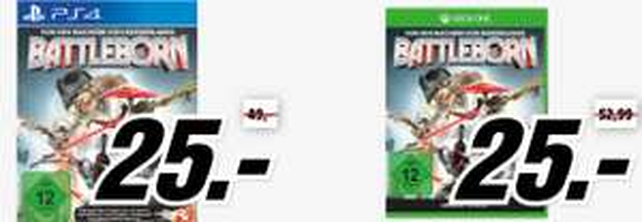 Battleborn (PS4 + XBox One) um 30 € inkl LogoiX Versand