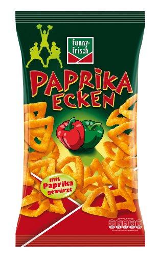 funny-frisch Papriken Ecken (7 Packungen) um 6,60 €