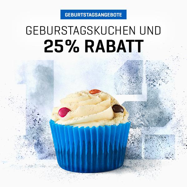MyProtein: 25% Rabatt auf ALLES + 50% auf Pillen, Aminos & Diätprodukte + 30% auf 30 Bestseller + Gratis Cupcake