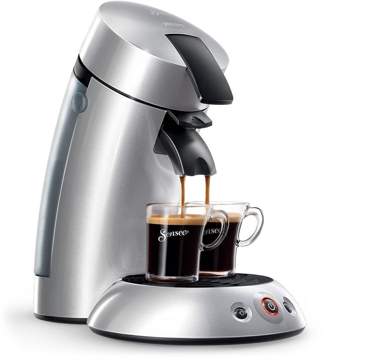 [Amazon] Philips Senseo  Kaffeepadmaschine, 1 oder 2 Tassen  48% Rabatt