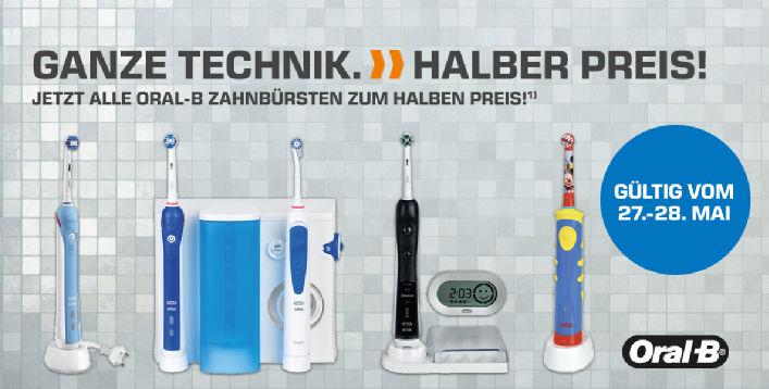 Saturn: Oral-B Zahnbürsten zum halben Preis - u.a. mit: Braun Oral-B PRO 6500 SmartSeries + 2. Handstück für 79,99€