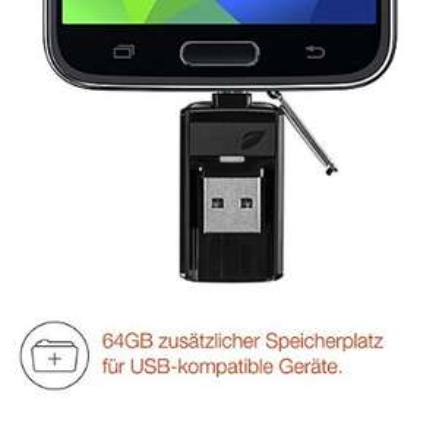 Leef Bridge USB-Stick 3.0 64GB um 30,24€ (PVG 48,88€)