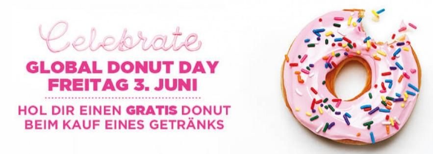 Dunkin Donuts: Gratis Donut bei Kauf von einem Getränk - nur am 3. Juni