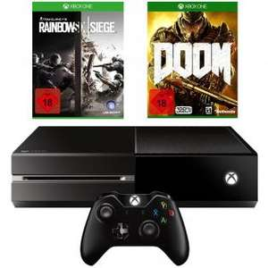 XBOX One 1TB + Rainbow Siege 6 + Doom