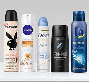 Amazon Prime: -30% auf Deodorants