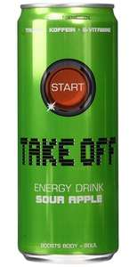 24 Dosen Take Off Energydrink Sour Apple um 13,80 EUR