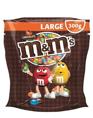 5x 300g M&Ms Choco oder Peanut für 10,23€ (~0,68€/100g)