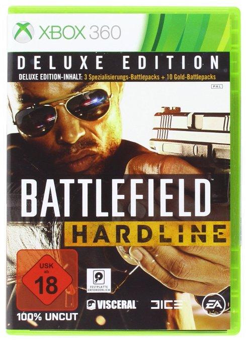 Battlefield Hardline Deluxe Edition (XBox 360) um 10 € - 50% sparen