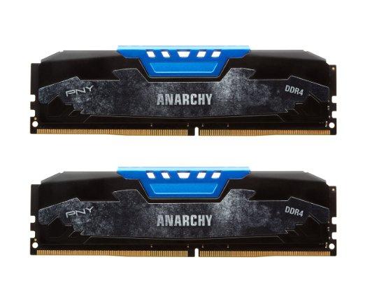 PNY Anarchy 16GB DDR4-2133 RAM CL15 (2x 8GB) um 48 € - 50% sparen