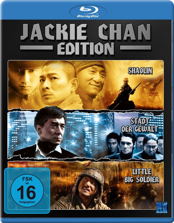 [amazon.de] Jackie Chan Edition (Little Big Soldier / Shaolin / Stadt der Gewalt) [Blu-ray] für 5,99€