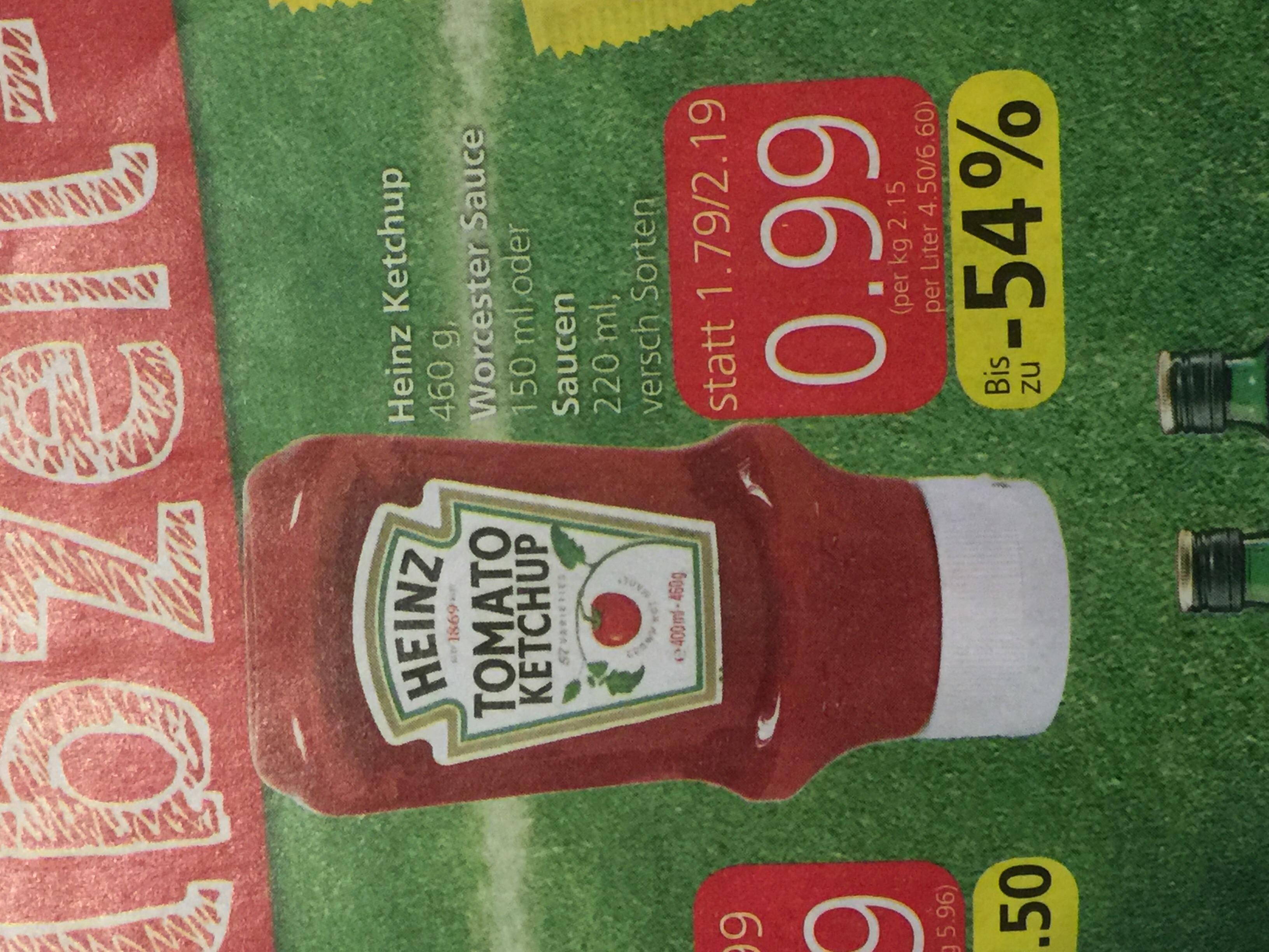 [Spar/meinKauf] 10x 460g Heinz Ketchup gratis