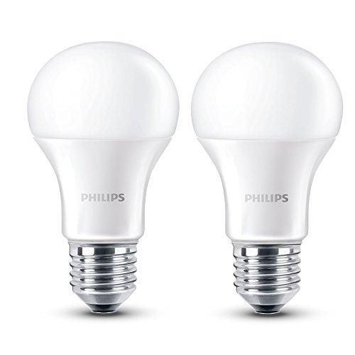2x Philips LED Lampe (E27, 2700 K, 470 lum) um 5,99 € ~50% sparen