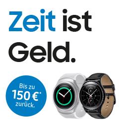 Samsung Cashback Aktion auf Smartwatches - bis zu 150€ (MM, Saturn, E4U)