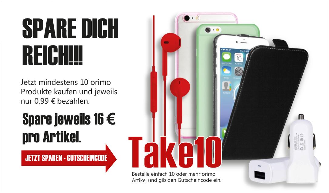 10 Produkte von Orimo kaufen und je nur 0,99€ zahlen