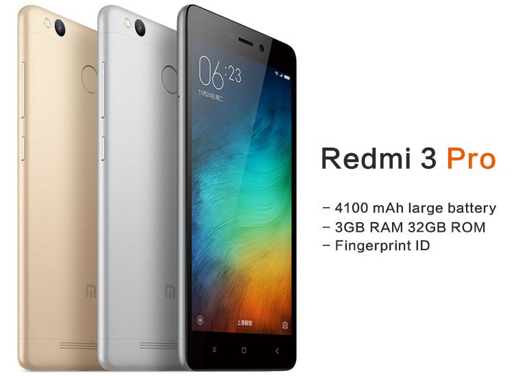 Redmi 3 Pro (3GB, 32GB, Fingerprint, großer Akku) mit Versand aus EU