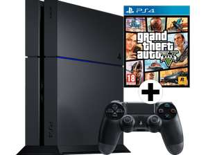 [Mediamarkt] SONY PlayStation 4 1 TB CUH-1200 + Grand Theft Auto V PEGI Bundle für 289€ - 22% sparen