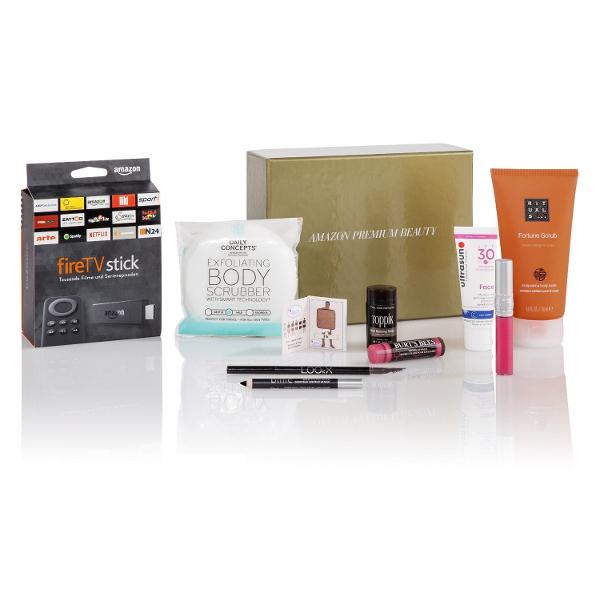 Gratis: Beauty-Box ab 50€ Einkauf (ggf. + gratis FireTV Stick)