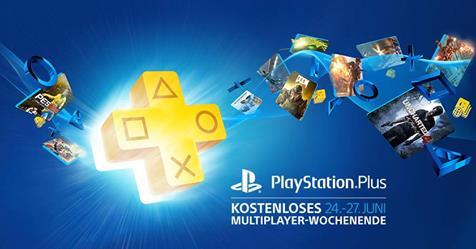 PlayStation Plus - kostenloses Multiplayer Wochenende vom 24. - 27. Juni