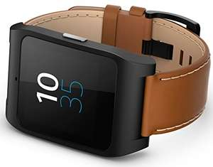 [amazon uk] Sony Mobile SmartWatch 3 mit Lederarmband - braun für 127,50€